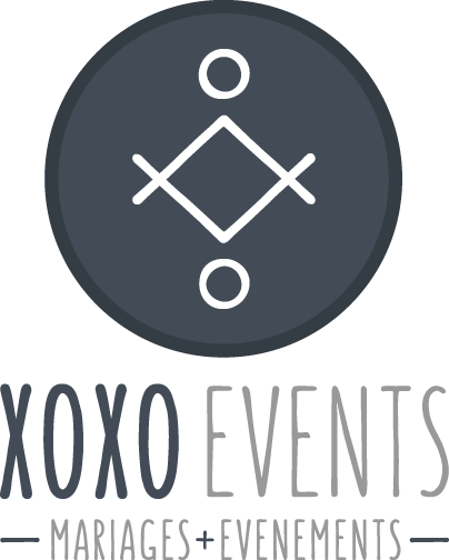 XOXO LOGO MARIAGE EVENEMENTS