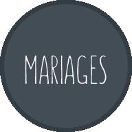 MARIAGE ICONE